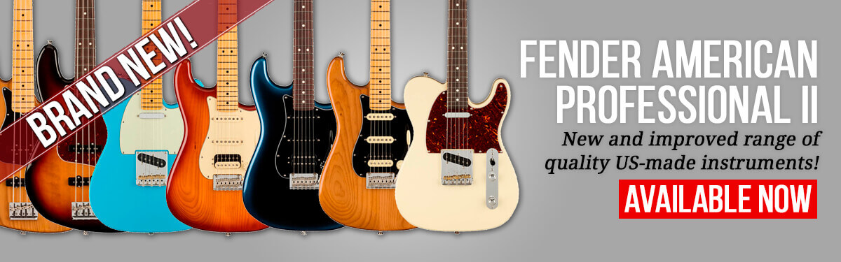 Fender American Professional II Available Now