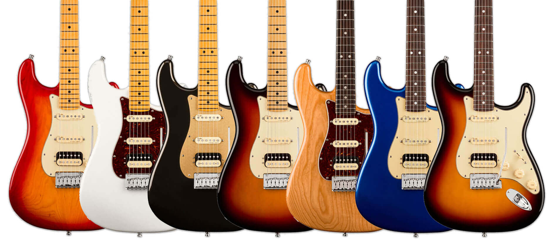 American Ultra Stratocasters HSS