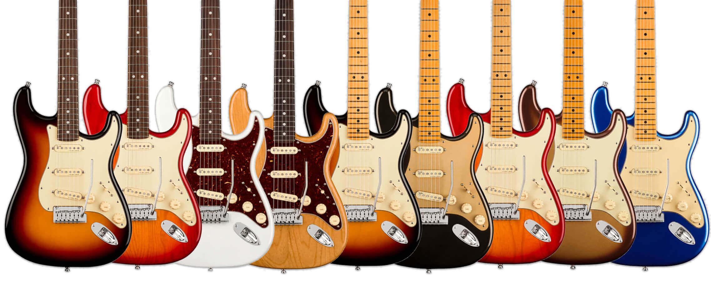 American Ultra Stratocasters