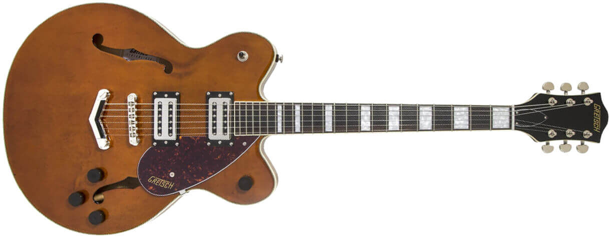 Gretsch G2622 Streamliner Center Block, V-Stoptail, Laurel - Barrel Stain