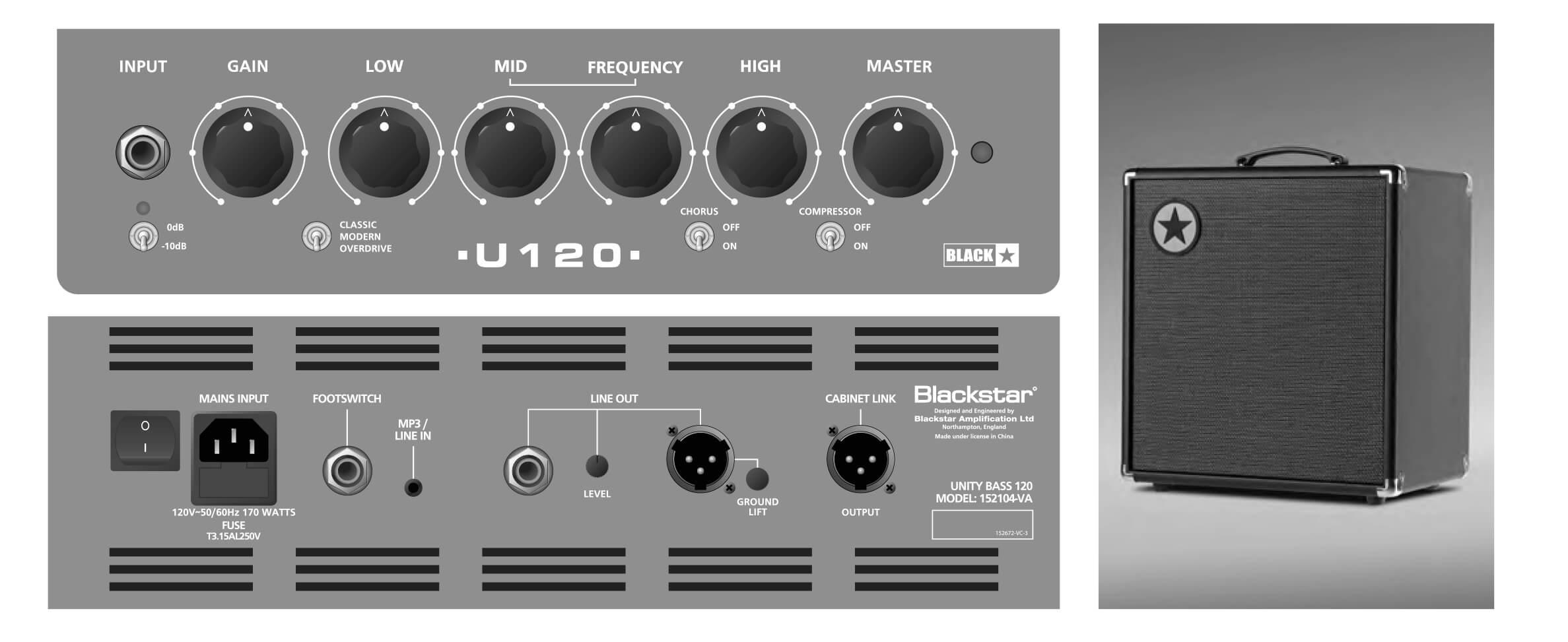 blackstar reveal unity pro bass amps namm 2018 rich tone music. Black Bedroom Furniture Sets. Home Design Ideas