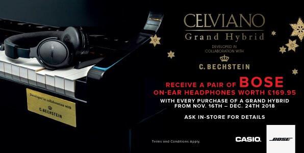Casio Celviano Bose Promo