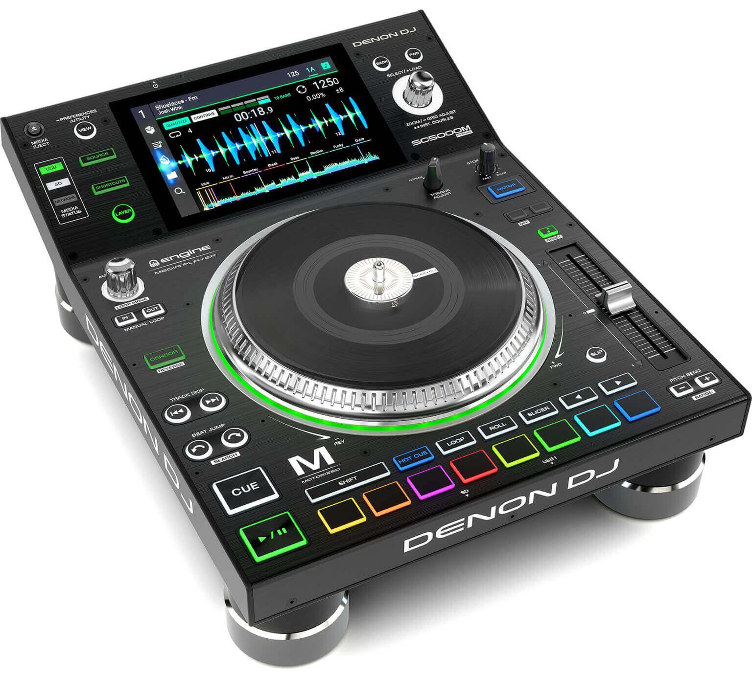 Denon DJ SC5000M top