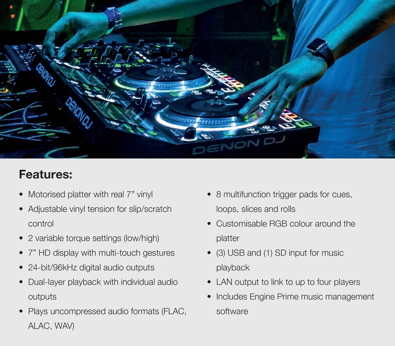 Denon SC5000M Key Features