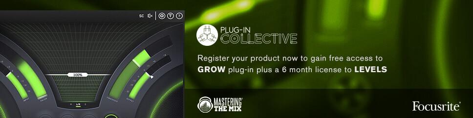 Focusrite Plugin Collective: Mastering the Mix | Rich Tone Music