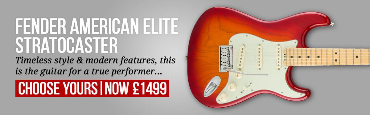 Fender American Elite Stratocaster – Aged Cherry