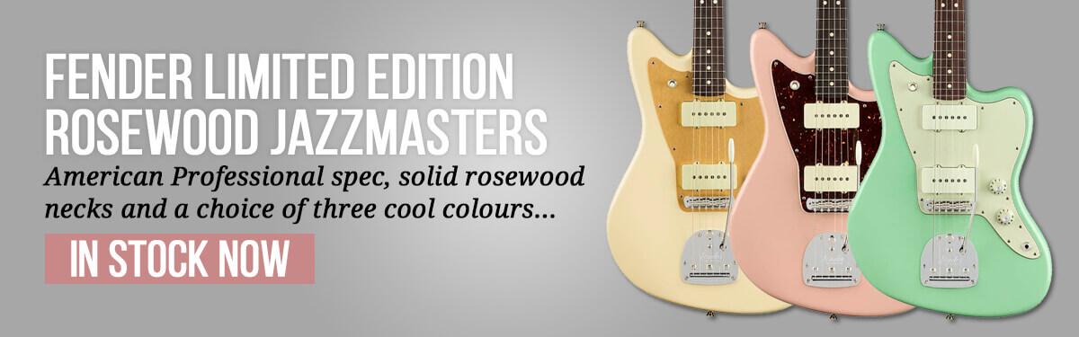 Fender Ltd Ed RW Jazzmasters