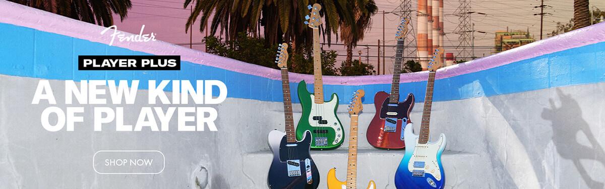 Fender Player Plus Series Launch
