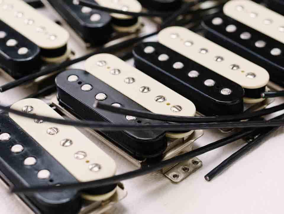 Fender zebra humbuckers