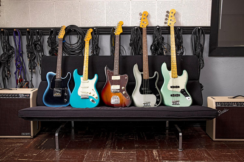 Fender AmProII Group Lifestyle