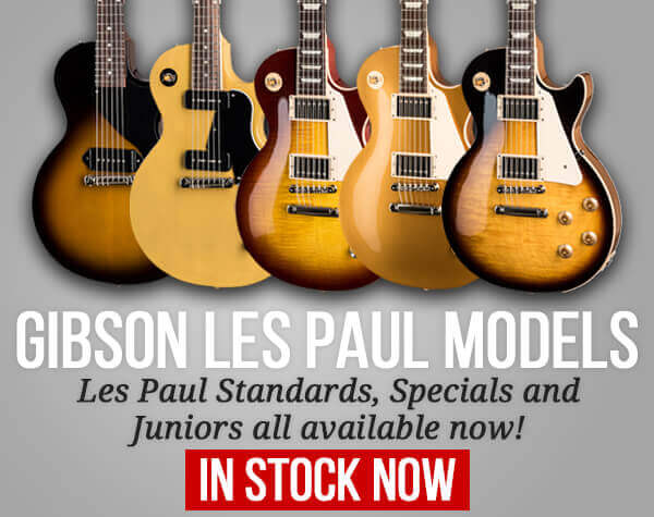 Gibson Les Paul Models In Stock