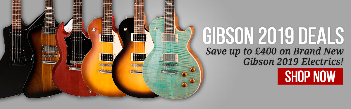 Gibson 2019 Sale April