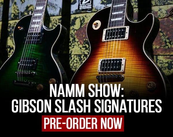 Gibson Slash Signatures