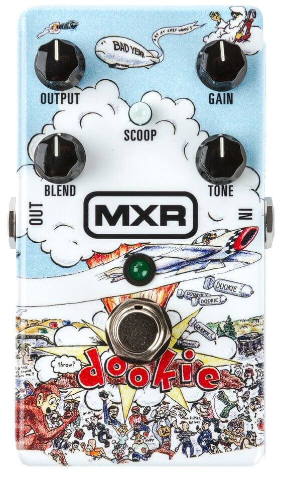 Green Day Dookie Drive FX Pedal