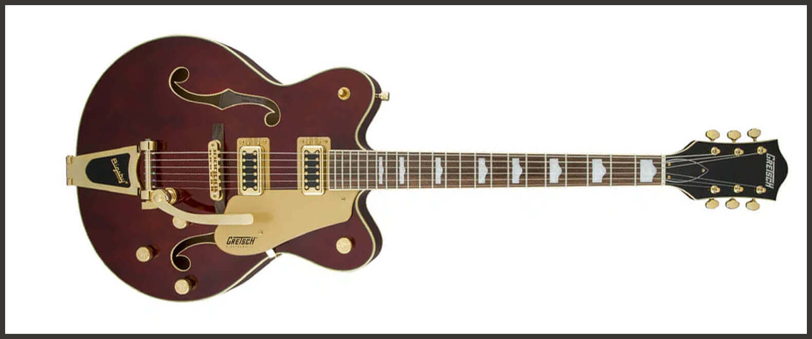 Gretsch Electromatic G5422TG with Bigsby - Walnut Stain