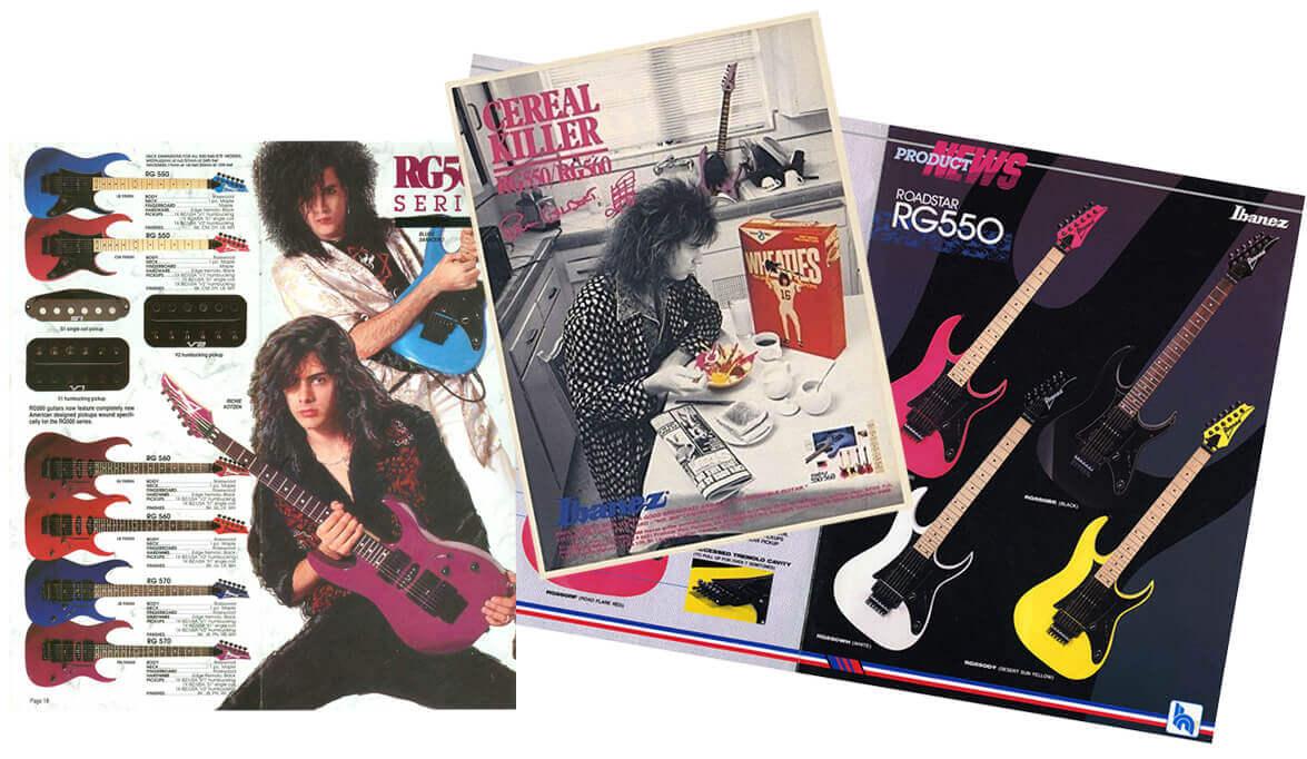 Ibanez RG magazines