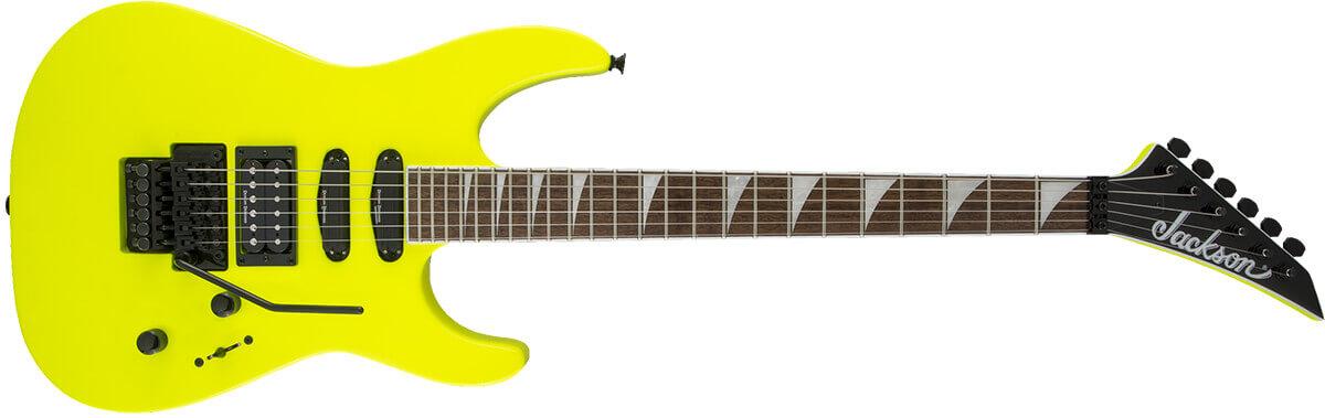 Jackson X Series Soloist Neon Yellow