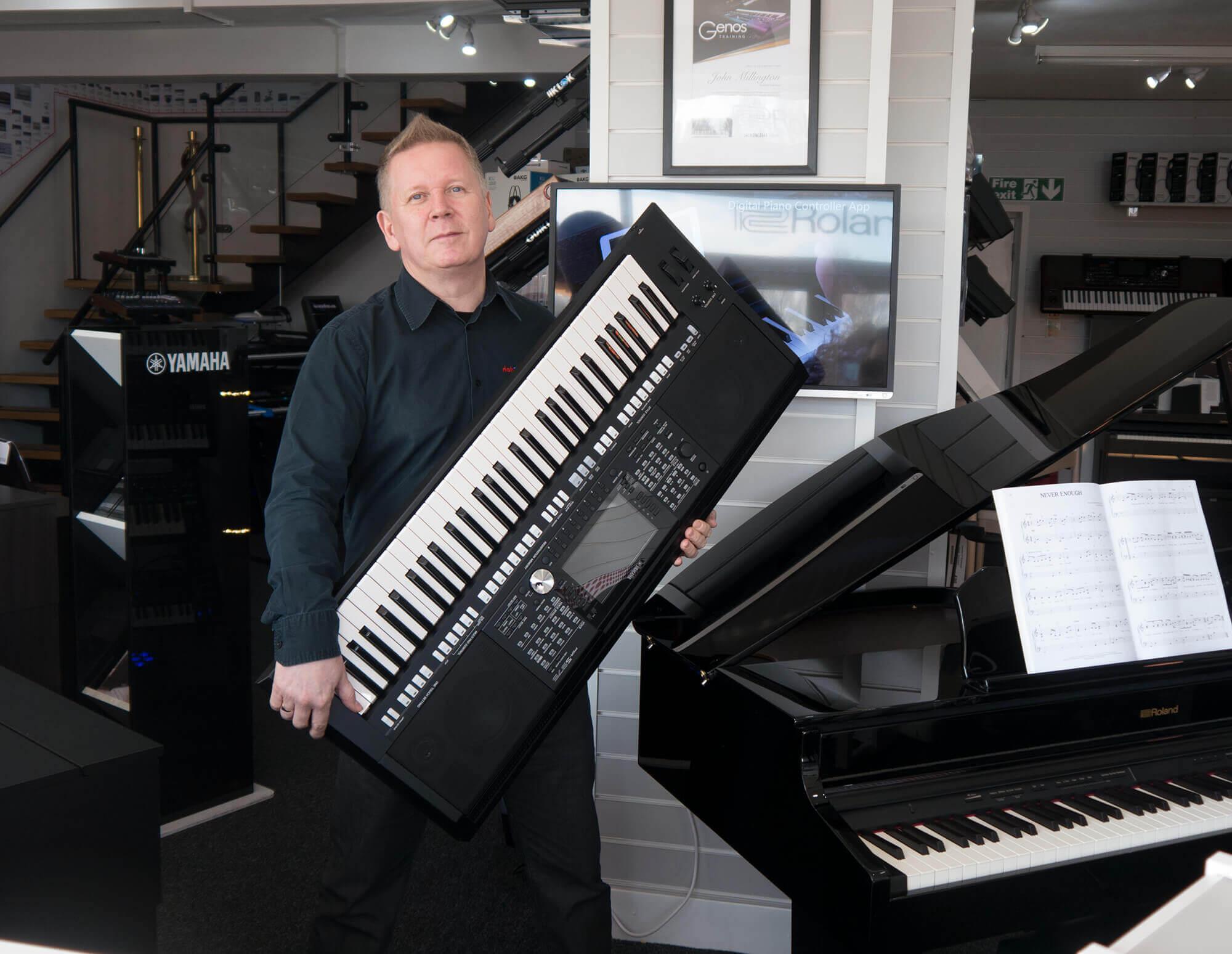 John Piano Room