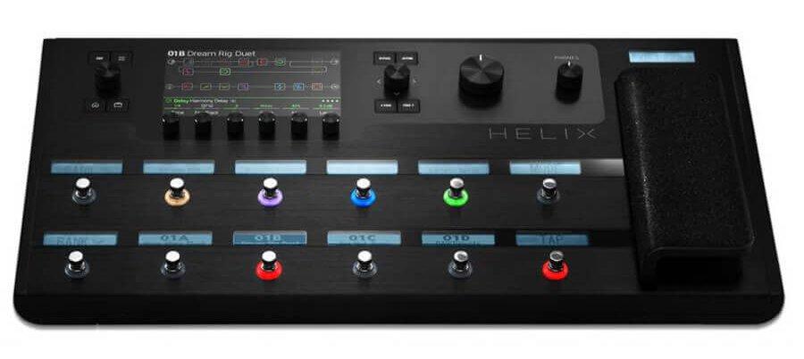 Line 6 Helix Tour Grade Processor