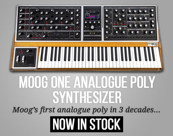 Moog One In Stock