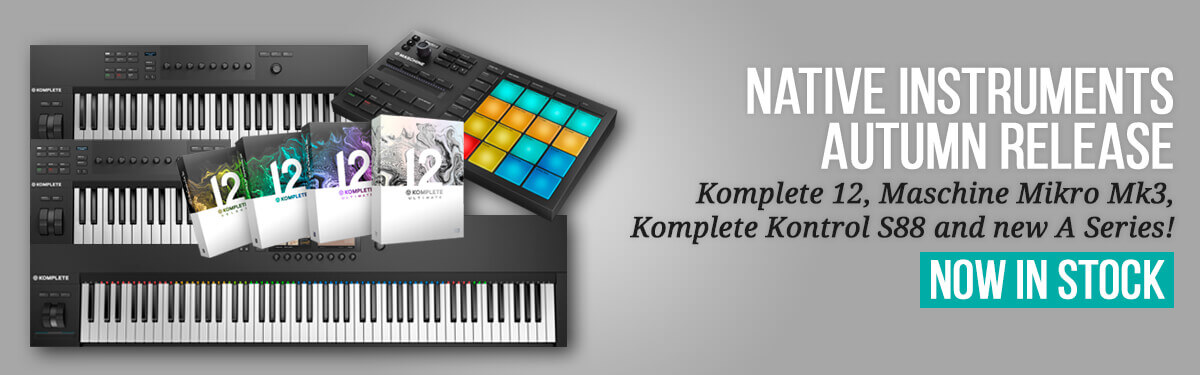 Native Instruments Now In Stock