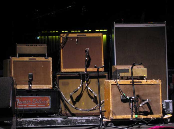 Neil Young's Fender Tweed Amps