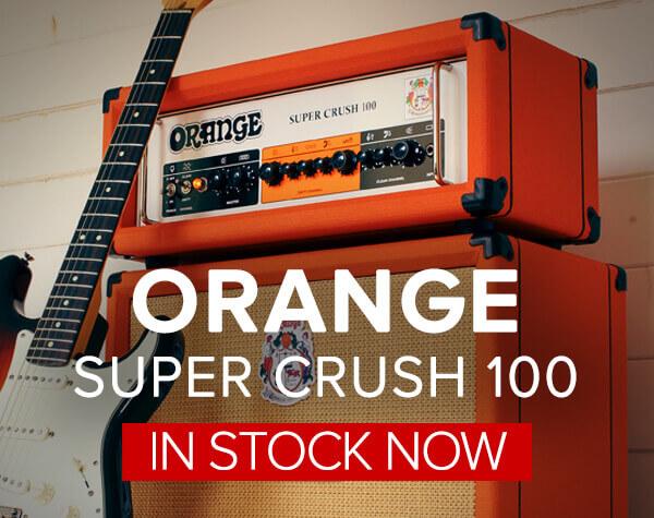 Orange Super Crush 100 Amplifiers Now In Stock
