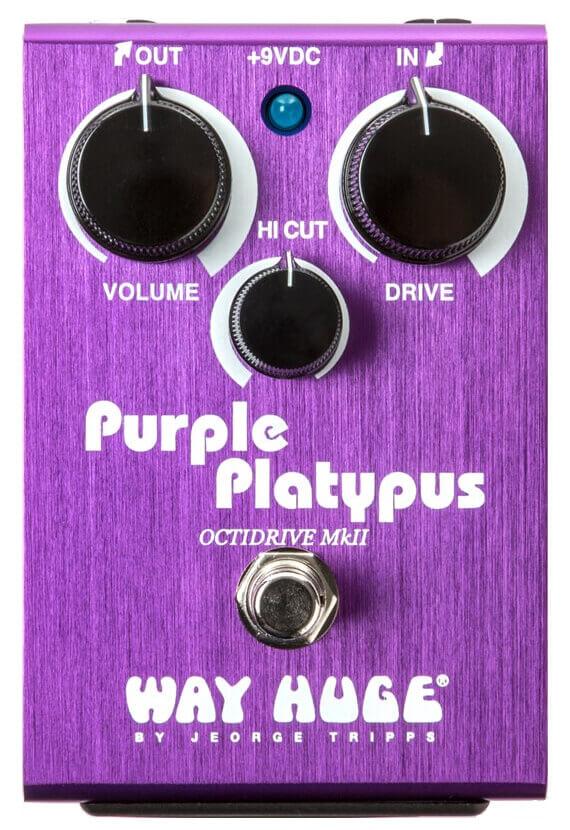 Purple Platypus Octidrive MkII FX Pedal