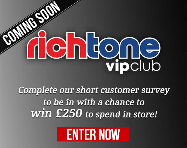 Rich Tone VIP Survey £250 Prize Giveaway