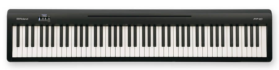 Roland FP-10 Topdown