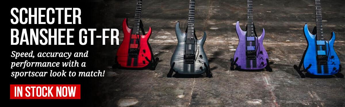 Schecter Banshee GT-FR Guitars In Stock Now
