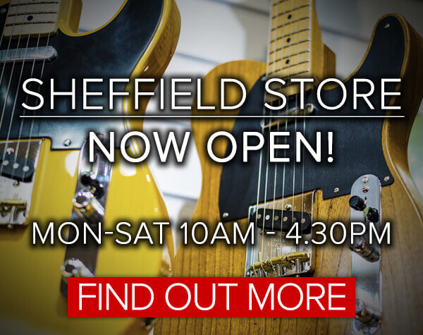 Sheffield Shop Opening 12th April