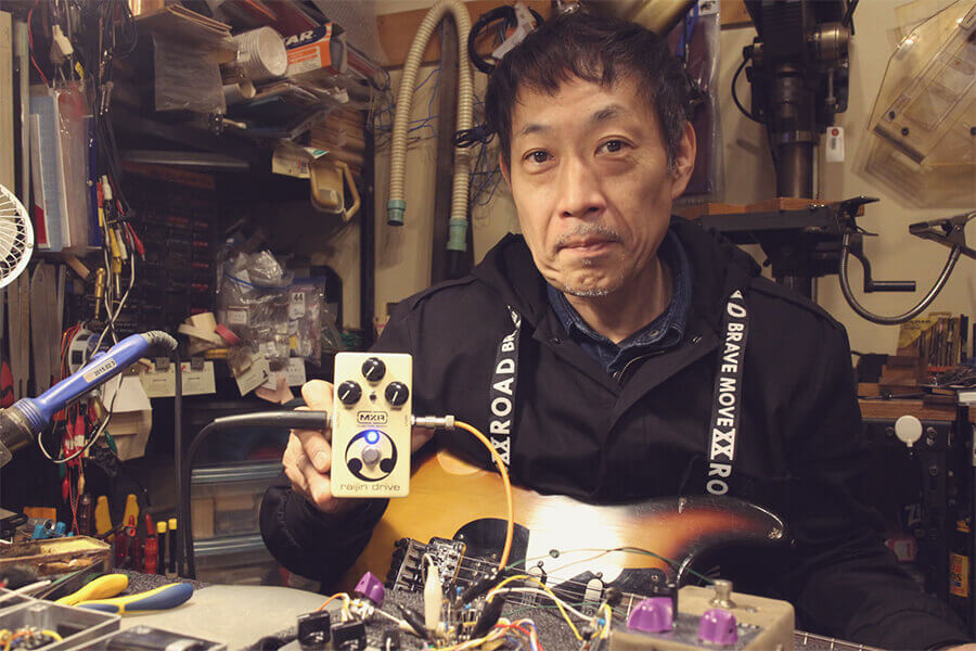 Shin Suzuki with Raijin Drive