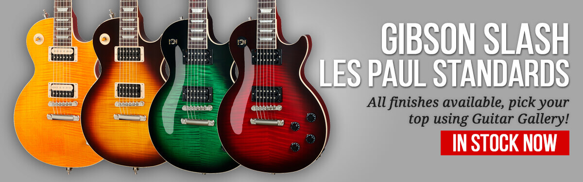 Gibson Slash Collection Les Paul Standards In Stock At Rich Tone Music!