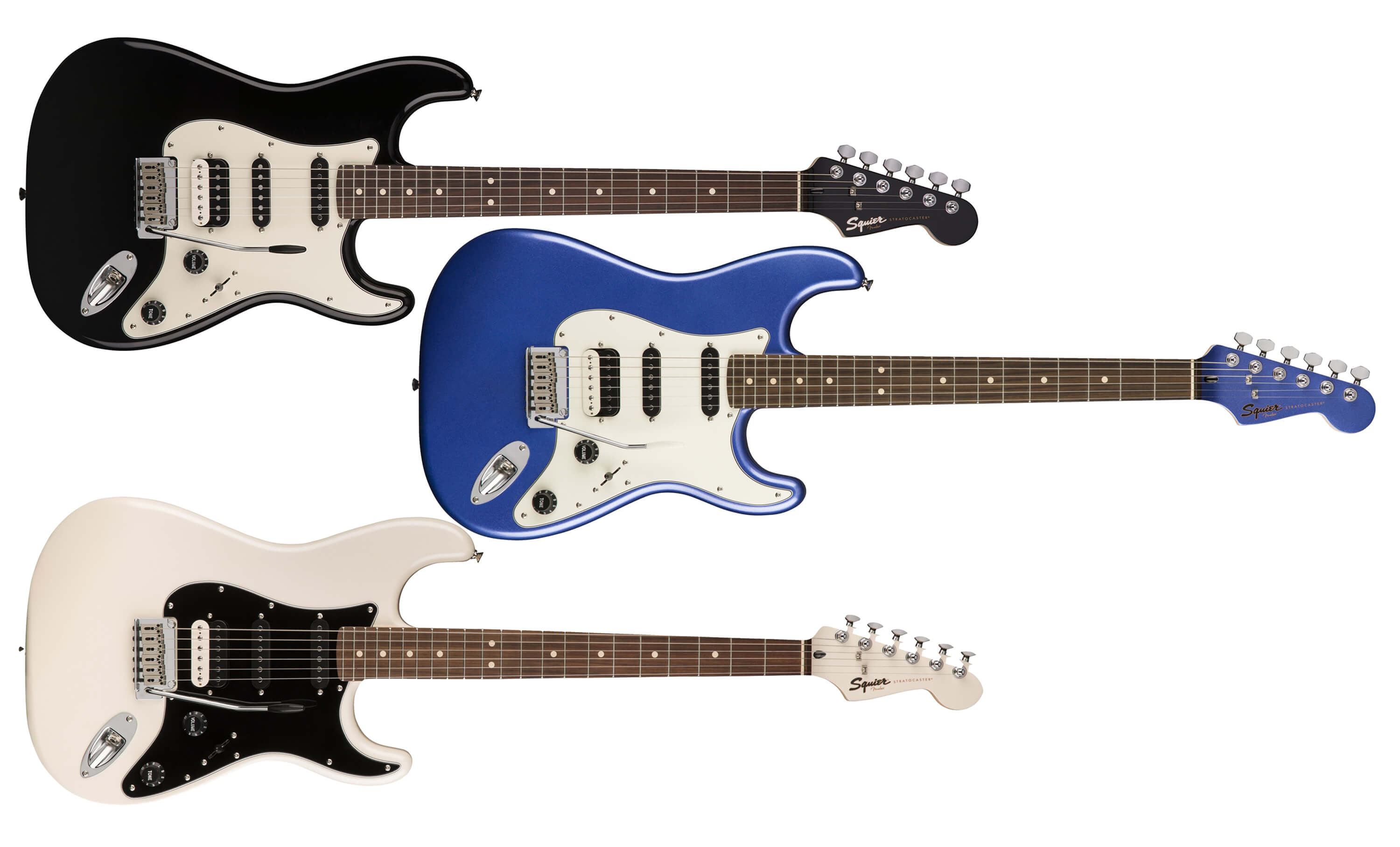 Squier Contemporary Stratocaster HSS Series