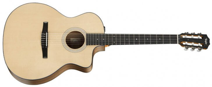Taylor 114ce-N Nylon Electro-Acoustic Guitar