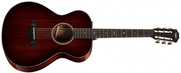 Taylor 522e 12-Fret V-Class Electro-Acoustic Guitar