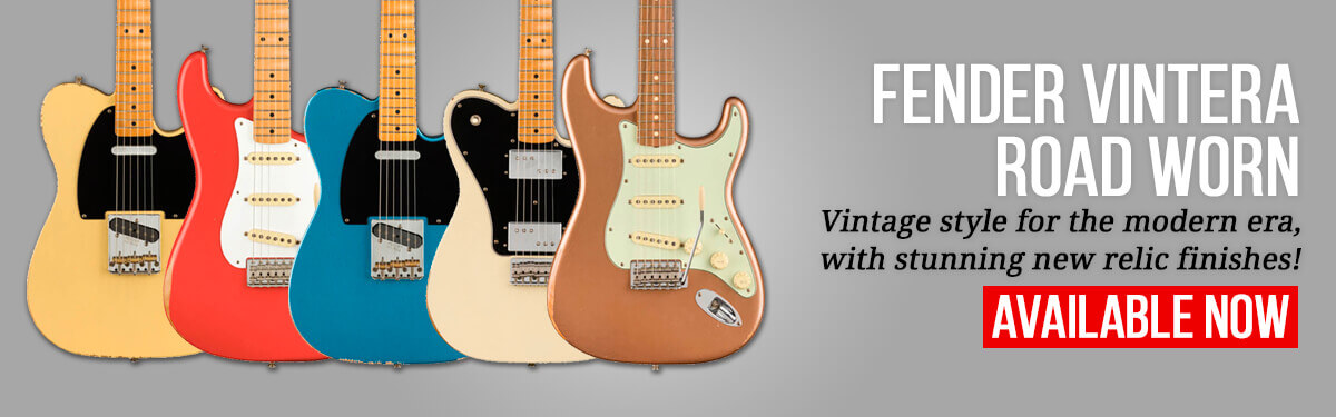 Fender Vintera Road Worn Available Now