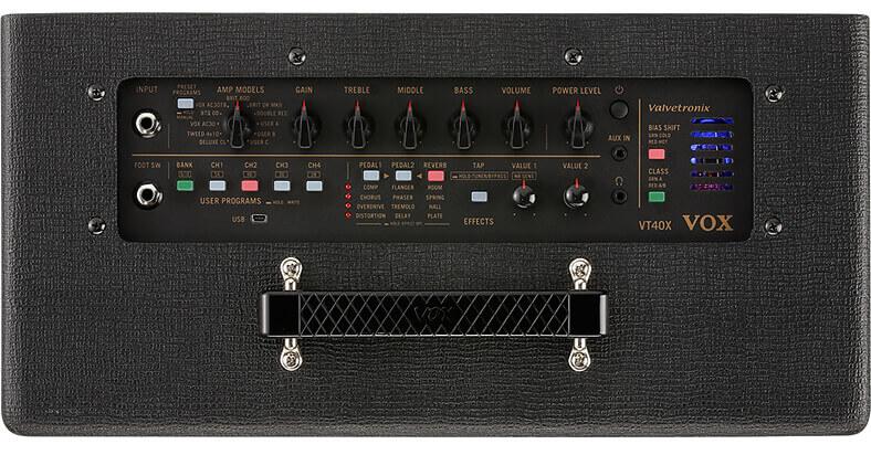Vox Vt40 panel