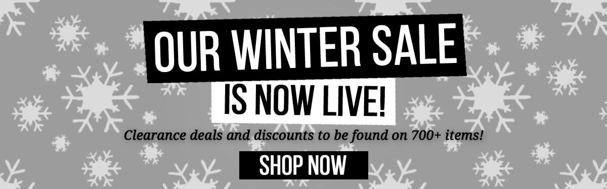 Winter Sale 2020 Now Live