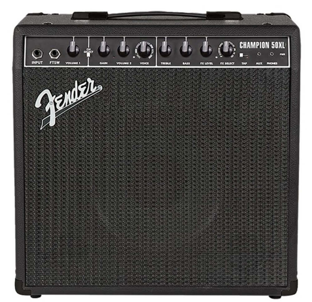 1200 × 1200Images may be subject to copyright. Find out more Fender Champion 50XL Combo Ltd Ed, Black
