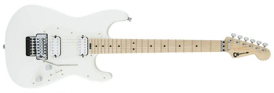 Charvel Pro-Mod So-Cal Style 1 HH FR M - MN - Snow White