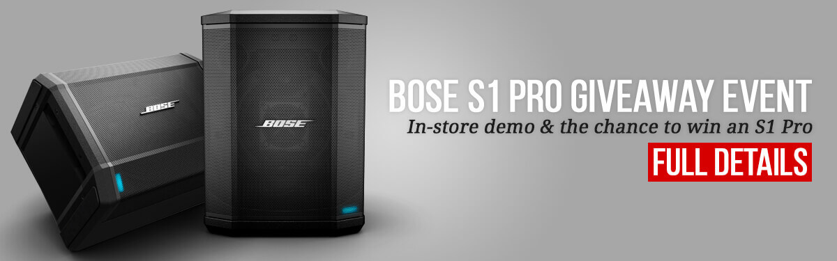 Bose S1 Pro Giveaway Event
