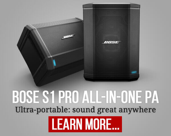 Bose S1 Pro All-in-One PA