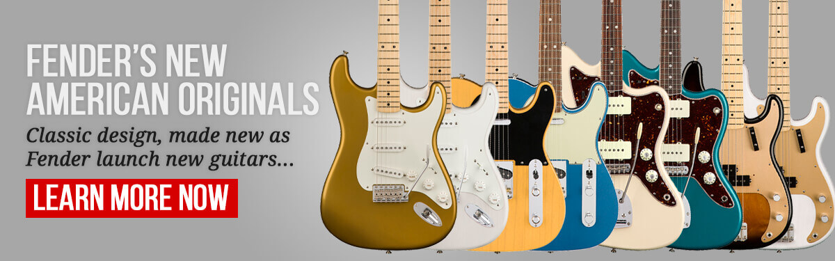 Fender's New American Originals