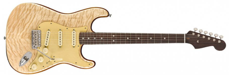 Fender Rarities American Original 60s Stratocaster - RW - Quilt Maple Natural