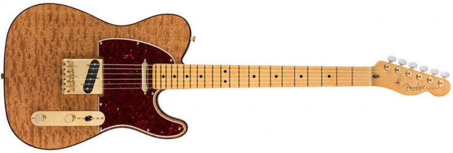 Fender Rarities Telecaster - MN - Matural Red Mahogany Top