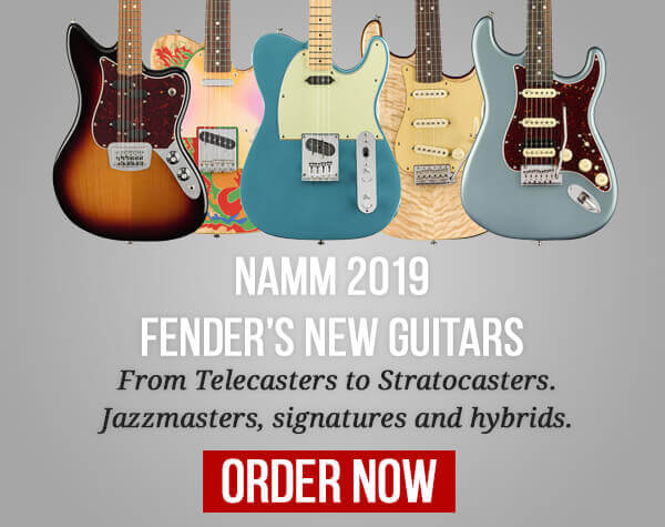 Fender Guitars NAMM
