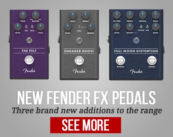 Fender Summer FX Pedals