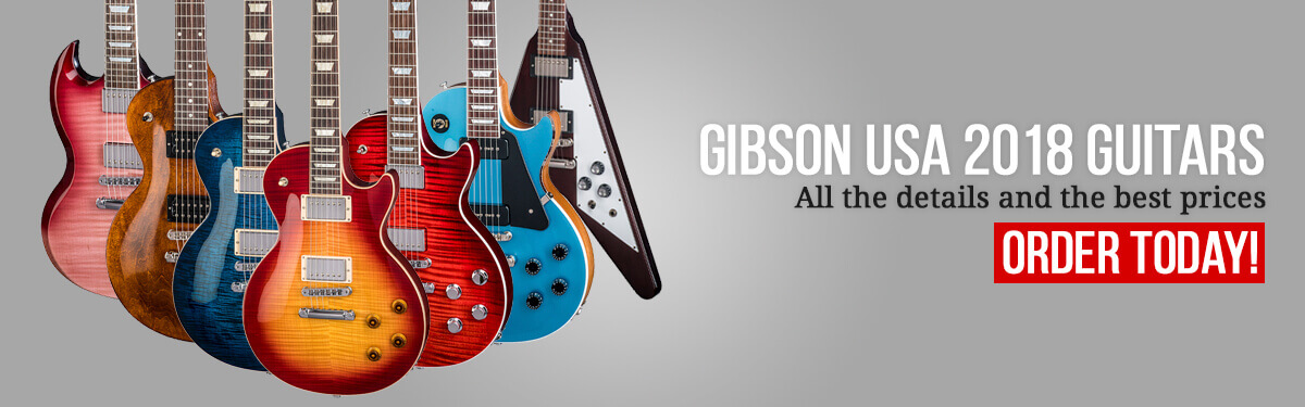 Gibson USA 2018 Guitars
